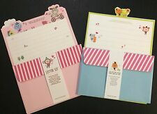 Animal Stripes Letter Set - Kawaii Korean Stationery - Cute Artbox writing paper