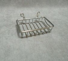 French Vintage Chrome Soap Dish Holder