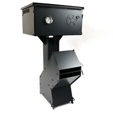 Heavy Duty Rocket Wood Burning Stove + Oven - Portable Cooker Camping - UK Made