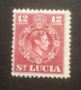 ST LUCIA 1949-1950 DEFINS SG153 MH