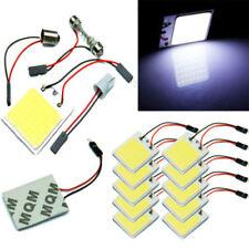 48 SMD COB LED T10 4W 12V Light Car Interior Panel Lights Dome Lamp Bulb+Parts E