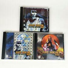 Duke Nukem 3D Kill-a-ton Collection (PC CDROM, 1997) Three Disk Set 3D Realms
