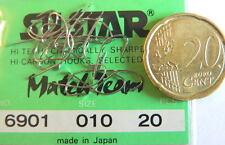 1 CONF. DA 20 AMI SILSTAR S. 6901  N°10  MADE IN JAPAN OFFERTA PESCA   TS45