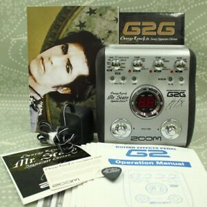 ZOOM G2G Mr. Scary George Lynch Signature Edition Guitar Effects Pedal 002194