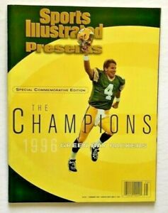 VINTAGE 1996 GREEN BAY PACKERS SPORTS ILLUSTRATED COMMEMORATIVE EDITION MAGAZINE