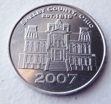 SIDNEY SHELBY COUNTY OHIO 2007 COIN EXHIBIT COURTHOUSE COMMEMORATIVE 'COIN'