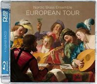 NORDIC BRASS ENSEMBLE-EUROPIAN TOUR-IMPORT SACD HYBRID+BLU-RAY AUDIO K25
