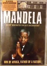 Mandela - Son of Africa, Father of A Nation, DVD. NEW & SEALED, Aussie seller