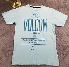 Volcom Instigate Change Blue Obey Propaganda Political T-shirt Jersey Mens M $59