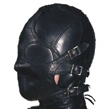 Fetish Bondage Gimp Hood Sensory Deprivation Hood Mask Multiplex Hood h-024