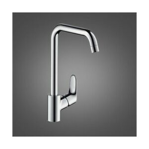 hansgrohe Focus kitchen tap 260 with selectable spout height 260 mm, Chrome