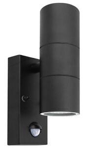 PIR Single or Up Down Outdoor Garden Light Wall Light with Movement Sensor