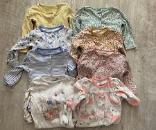 X8 Baby Girl Babygrow/Sleepsuit Bundle 3-6 Months (TU/M&Co) - EXC COND