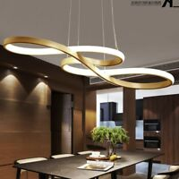LED Chandelier Dining Room Ceiling Light Acrylic Pendant Lamp Lighting Fixture