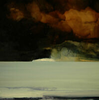 ORIGINAL SCOTTISH ART - OIL PAINTING - ICEBERG