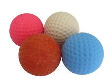 4er Set Minigolfbälle Anlagenball unterschiedliche Eigenschaften HN4