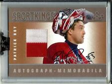Patrick Roy 2007 Sport Kings Autograph Game Used Jersey (Silver Version)