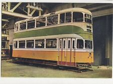Tramcar No.1392 Glasgow Corporation Old Postcard 313a