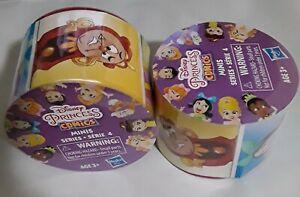 Lot of 2 -  Random Disney Princess Comic Minis Figurines Series 4