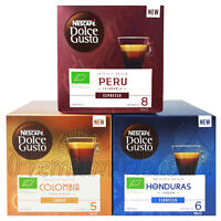 Nescafe Dolce Gusto coffee pods Peru Honduras Mexico Colombia Lungo Box of 12