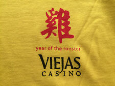 New listing Viejas Casino Ca Year of the Rooster Tee T-Shirt Xl Players gift item souvenir