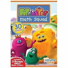 Monster Math Squad - Volume One - 30 Episodes, Good DVD, Lily, Max, Goo, various