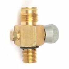 """New paintball CO2 Tank On/Off Valve,fit most of tanks with threads 5/8""""-18UNF"""