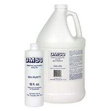 DMSO LIQUID GALLON 99.9% Pure Dimethyl Sulfoxide Pyrogen Free Acetone free