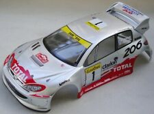 "Carrozzeria Body 1/10 Peugeot 206 WRC 200mm per for 1/10 Verniciata  ""PAINT"""