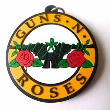 1 x New Guns N Roses Rubber Keychain Rock Music Memorabilia Gift Collectible
