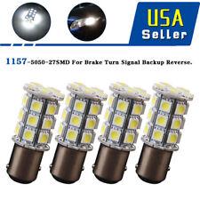 4x 6000K White 1157 27 SMD LED Backup Reverse Turn Signal Light Bulbs 1152 12V