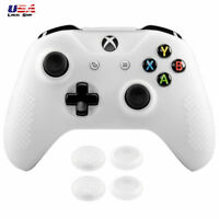 For Xbox One X One S Controller Soft Silicone Thumbstick Grip Semi-transparent