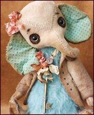 READY to SHIP Alla Bears artist Old Antique mint rose baby modern nursery decor