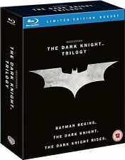 The Dark Knight Trilogy Blu-Ray Region Free Batman Begins Rises Collection Films