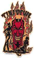 Tiki Devil Sticker Decal Vince Ray VR80