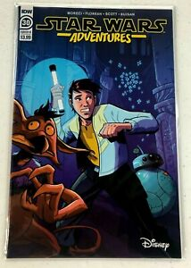 Star Wars Adventures #30 B,  IDW Comic Book, Disney Plus, NM
