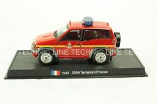 Nissan Terrano II -2004 French Fire Truck Diecast Model 1:43 No 25