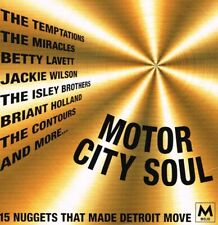 MOJO: Motor City Soul (15 Nuggets That Made Detroit Move CD)