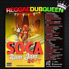 Silver Bullet Sound - Soca Ram Jam 2015 Mixtape. Reggae Mix CD.