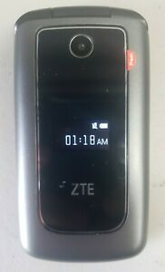 ZTE Cymbal Z320 4GB T-Mobile MetroPCS 4G LTE Cellular Flip Phone NEAT Condition