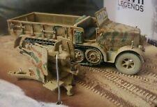 Corgi WWII Legends Sd.Kfz 7/1 Krauss-Maffei Panzer Support Vehicle CC60006 1:50
