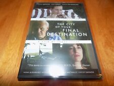 THE CITY OF YOUR FINAL DESTINATION Anthony Hopkins Laura Linney Drama DVD NEW