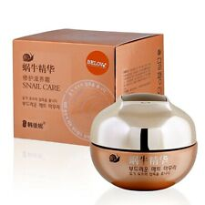 Korean Snail Overnight Concentrated Cream Moisturizer Skin Care Anti Aging Lines
