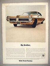 Pontiac 2+2 PRINT AD - 1967