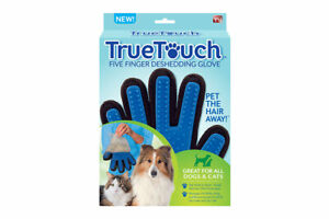 2 x Pet Hair Remover Gloves Brush Dog Cat Fur Grooming AS SEEN ON TV