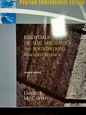 Essentials of Soil Mechanics and Foundations Basic Geotechnics (7th Internationa
