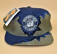 Georgetown Hoyas Drew Pearson Shockwave Vintage 90s Strapback Cap Hat - NWT