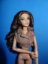 Fashion Royalty Jason Wu 1:6 NOUGAT BROWN SHORT VEST f.Poppy Dynamite Barbie