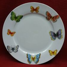 QUEEN'S china BUTTERFLY pattern Dinner Plate - 10-5/8""