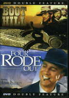 BOOT HILL / FOUR RODE OUT Western Double Feature Leslie Nielson Terance Hill